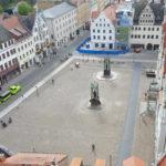 Marktplatz mit Alststadtbahn
