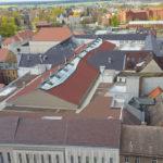 Stadthaus und Arsenal