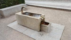 Röhrwasserbrunnen Collegienstraße vor Lutherhaus
