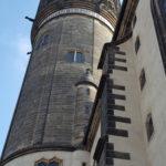 Schlosskirche, Turm neben Thesentür